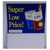 SST GPC Cigarettes Sign