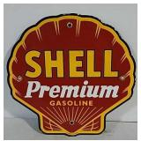 SSP Shell Premium Gasoline Sign
