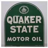 DST Quaker state tombstone sign