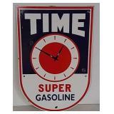 SSP Time Super Gasoline sign