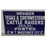 SSP Texas & Southwestern Cattle Raisers sign