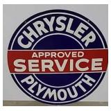 DSP Chrysler Plymouth service sign