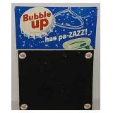 SST Bubble Up menu board sign