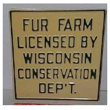 SST Wisconsin Conservation Department for Fur Farm