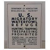 SSP Us Dept Agriculture US migratory sign