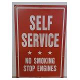 SST Self Service sign