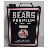 2 Gallon Sears oil can