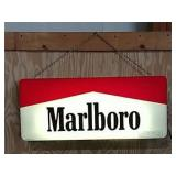 DS Marlboro lighted sign