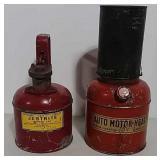 Auto Motor Heater and Justrite (kerosene) can