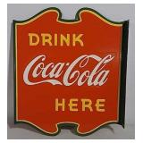 DSP Coca-Cola flanged sign