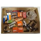 Bearings, spark plugs and parts