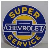 SSP Chevrolet Super Service sign