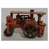 Cast iron Huber steam roller toy