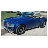 1962 Austin Healey 3000 MK II Tribute