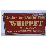 SST Whippet embossed sign