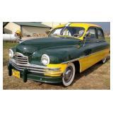 1950 Packard Super 8 - Green Bay Packer