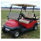 E.Z. Go golf cart
