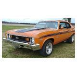 1973 Chevrolet Nova SS restomod