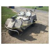 COLUMBIA THREE WHEEL GOLF CART