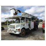 2001 INTERNATIONAL 4700 W/ TEREX 55