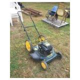 CRAFTSMAN BLACK/ YELLOW PUSH MOWER