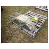 MEDIUM 2-DOOR LIVE ANIMAL TRAP