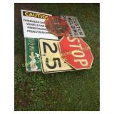 LOT OF MISC SIGNS