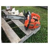 "STIHL 015L CHAINSAW W/ 14"" BAR"