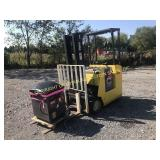YALE 3 WHEEL ELECTRIC FORKLIFT