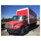 2007 FREIGHTLINER W/ 26' ENCLOSED ALUMINUM BED