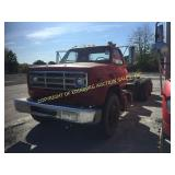 1986 GMC 7000 CAB & CHASSIS W/ 15
