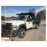 2008 FORD F-550 SUPER DUTY W/ 9