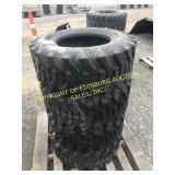 450SET OF (4) NEW 12-16.5 SKS332 SKID STEER TIRES