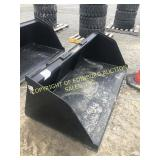"""NEW 72"""" LARGE CAPACITY SNOW/MATERIAL BUCKET"""