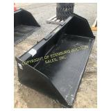 """NEW 84"""" LARGE CAPACITY SNOW/MATERIAL BUCKET"""