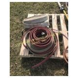 LOT OF MISC FIRE HOSES