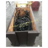 BROWN CRATE OF HYDRAULIC HOSE B FITTINGS