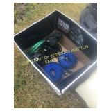 BOX OF WATER TRANSFER PUMPS & HOSES