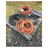 LOT OF MISC HOSES