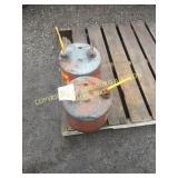 (2) METAL SAFETY GAS CANS