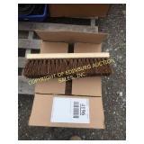 BOX OF NEW BROOM BRUSHES