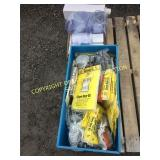 LOT OF NEW THERMOSES, PITCHERS, STORM DOOR KITS