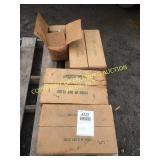 (4) BOXES OF NEW STITCHING WOOD BINDING WIRE
