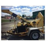 ALTEC WC 126 TOWABLE DRUM STYLE BRUSH CHIPPER KUBO