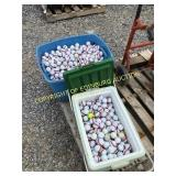 (2) BOXES OF GOLF BALLS