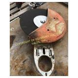 STIHL CUT OFF SHIELD AND BLADE