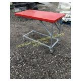 GALVANIZED PIPE METAL TOP TABLE