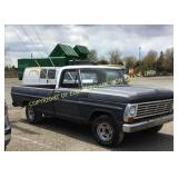1968 FORD F-100 LONG BED 2WD