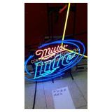 NEON MILLER LIGHT SIGN