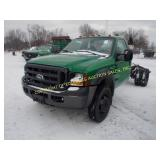 2006 FORD F-550 DUAL WHEEL SUPER DUTY XL